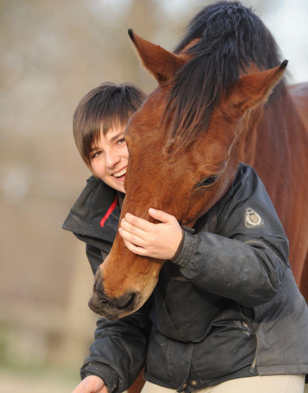 Céline Boé Préparation mentale et enseignante d'équitation de L'équifine